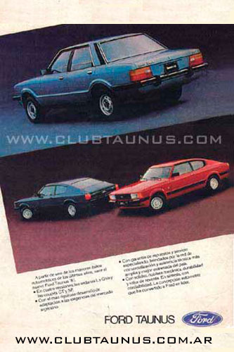 Ford Taunus L - GT - GT SP